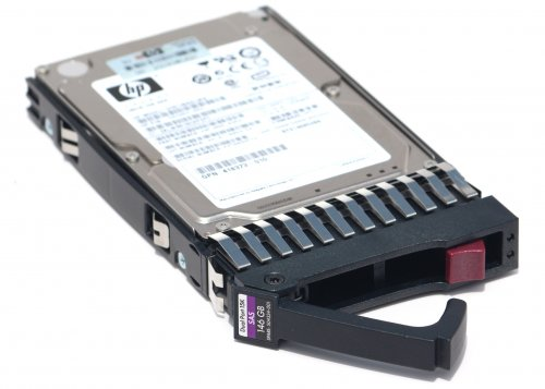 HP 146GB 2.5 SFF 3G Dual Port SAS 15K RPM Hot Plug Hard Drive